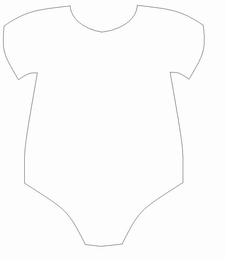 Free Printable Baby Onesie Template New Baby Esie Drawing at Getdrawings