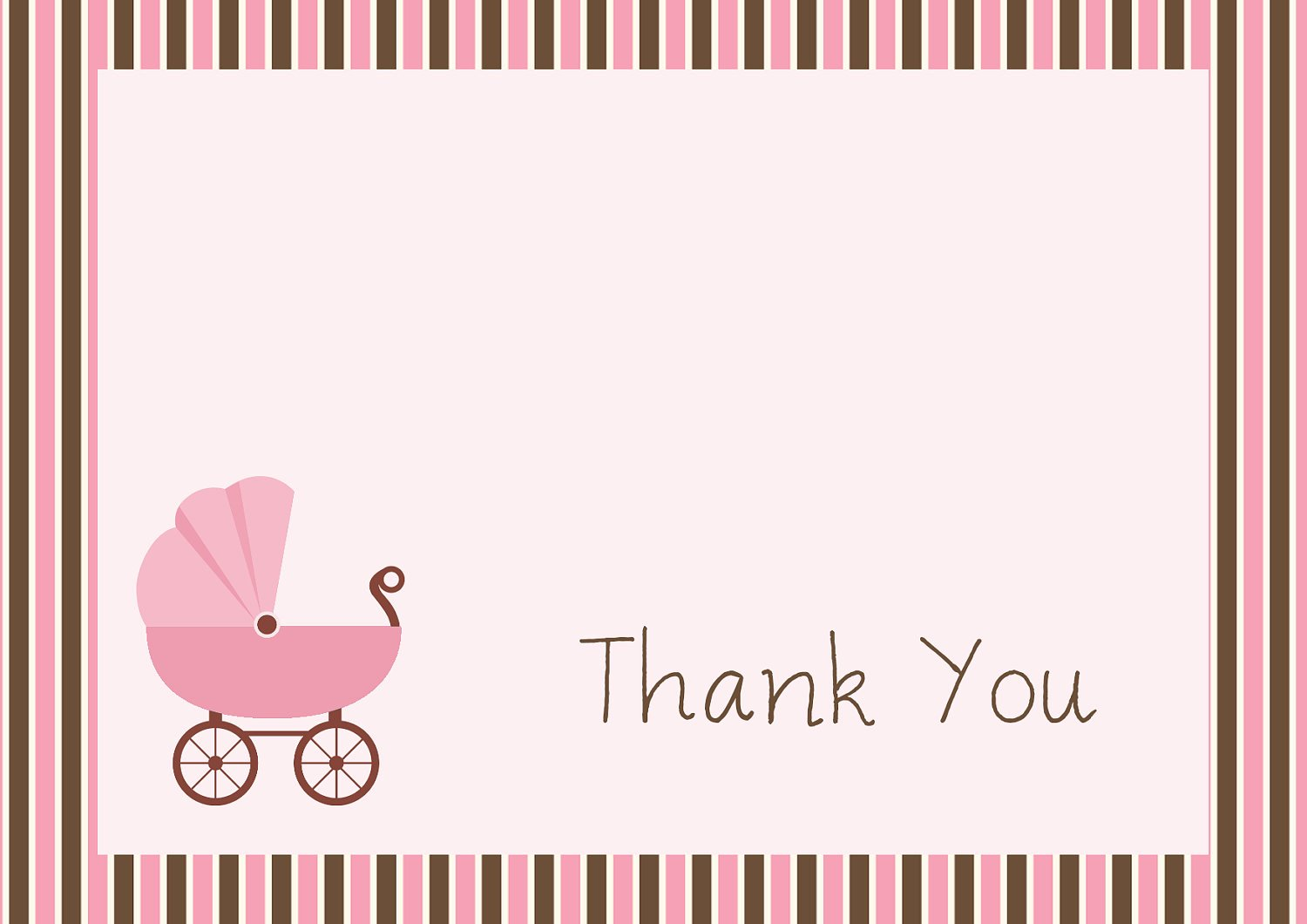 Free Printable Baby Shower Card Best Of 34 Printable Thank You Cards for All Purposes