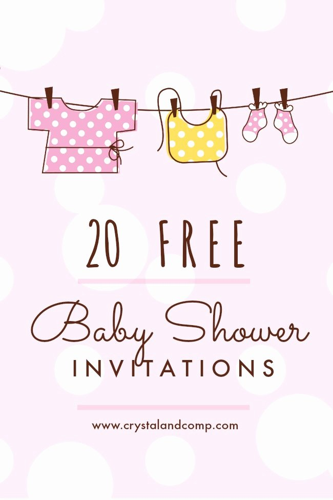 Free Printable Baby Shower Card Luxury Printable Baby Shower Invitations