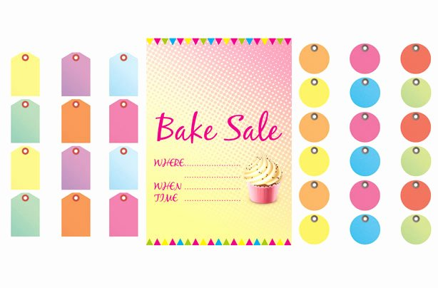 Free Printable Bake Sale Flyers Awesome Free Bake Sale Signs and Labels