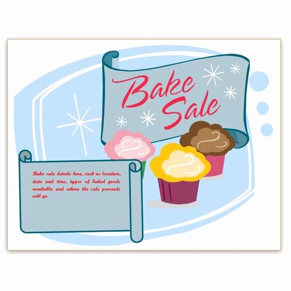 Free Printable Bake Sale Flyers Fresh Find Free Flyer Templates for Word 10 Excellent Options