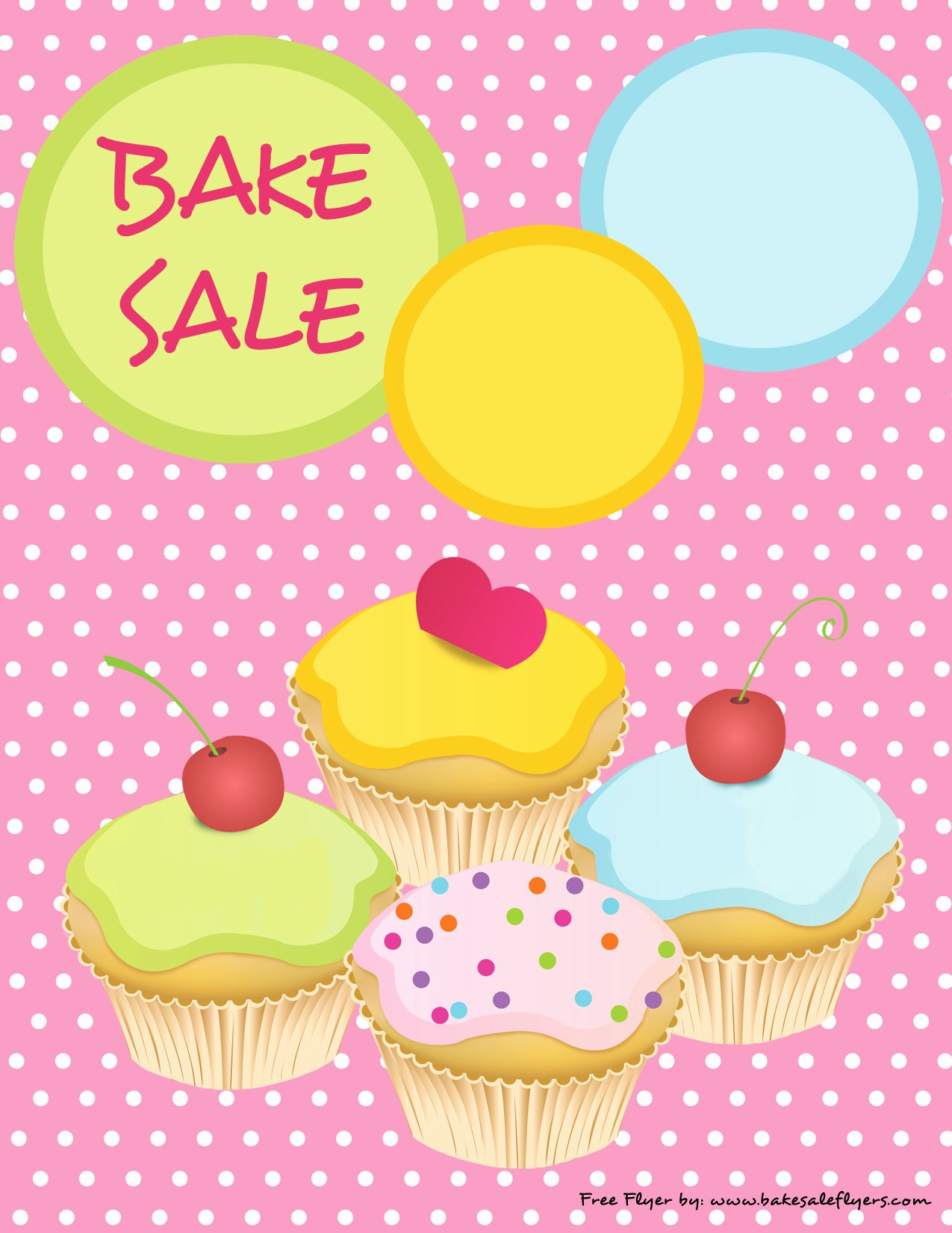 Free Printable Bake Sale Flyers Inspirational Printable Bake Sale Flyer – Cute Pink with Cupcakes