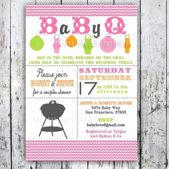 Free Printable Bbq Invitations Best Of Baby Shower Invitation Baby Q Baby Bbq Digital Printable