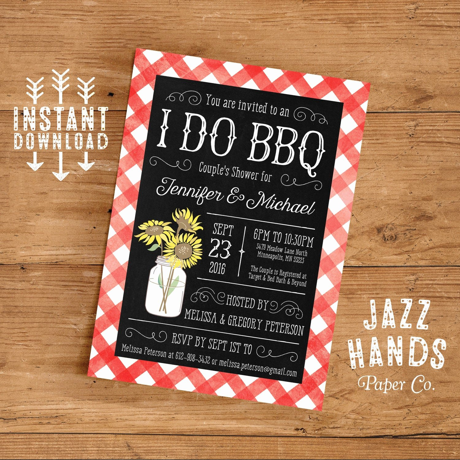 Free Printable Bbq Invitations Best Of Printable I Do Bbq Couples Shower Invitation Template Diy