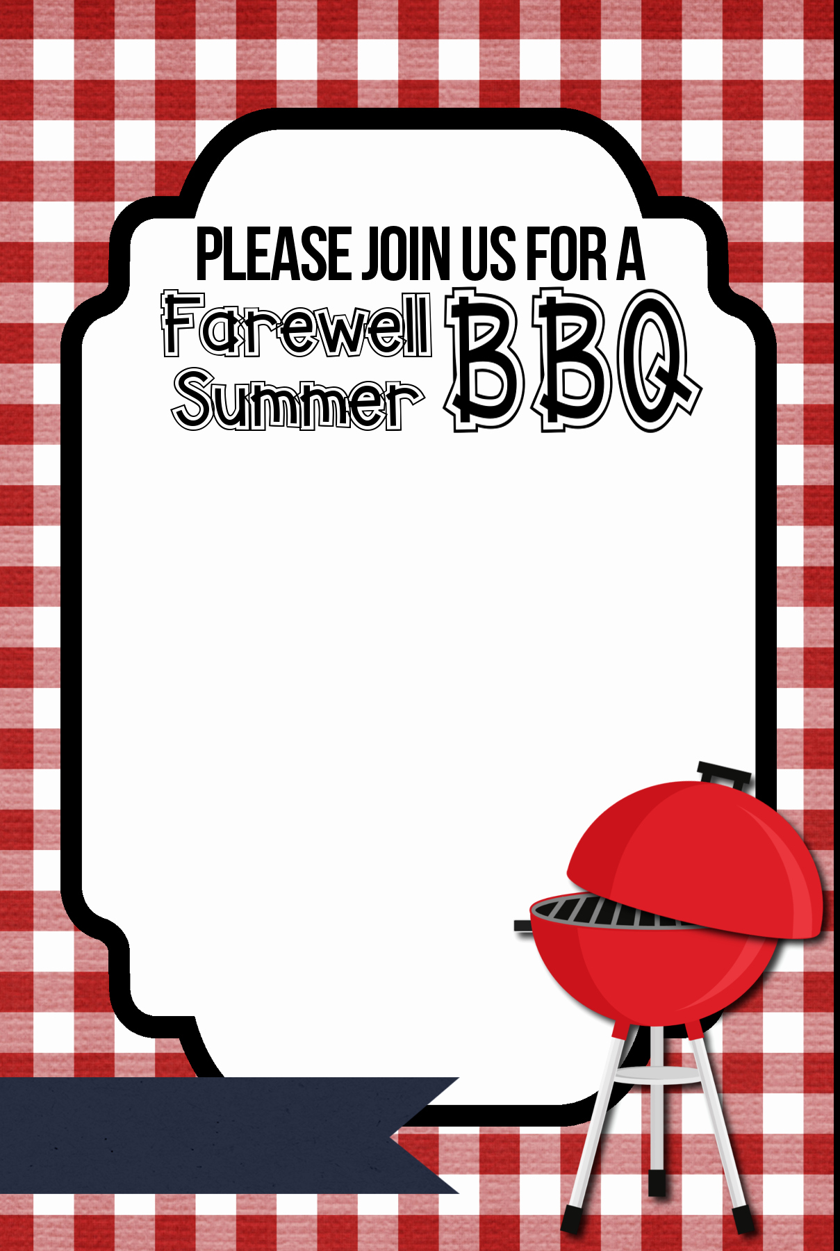 Free Printable Bbq Invitations New Bbq Invitation Printable organize and Decorate Everything