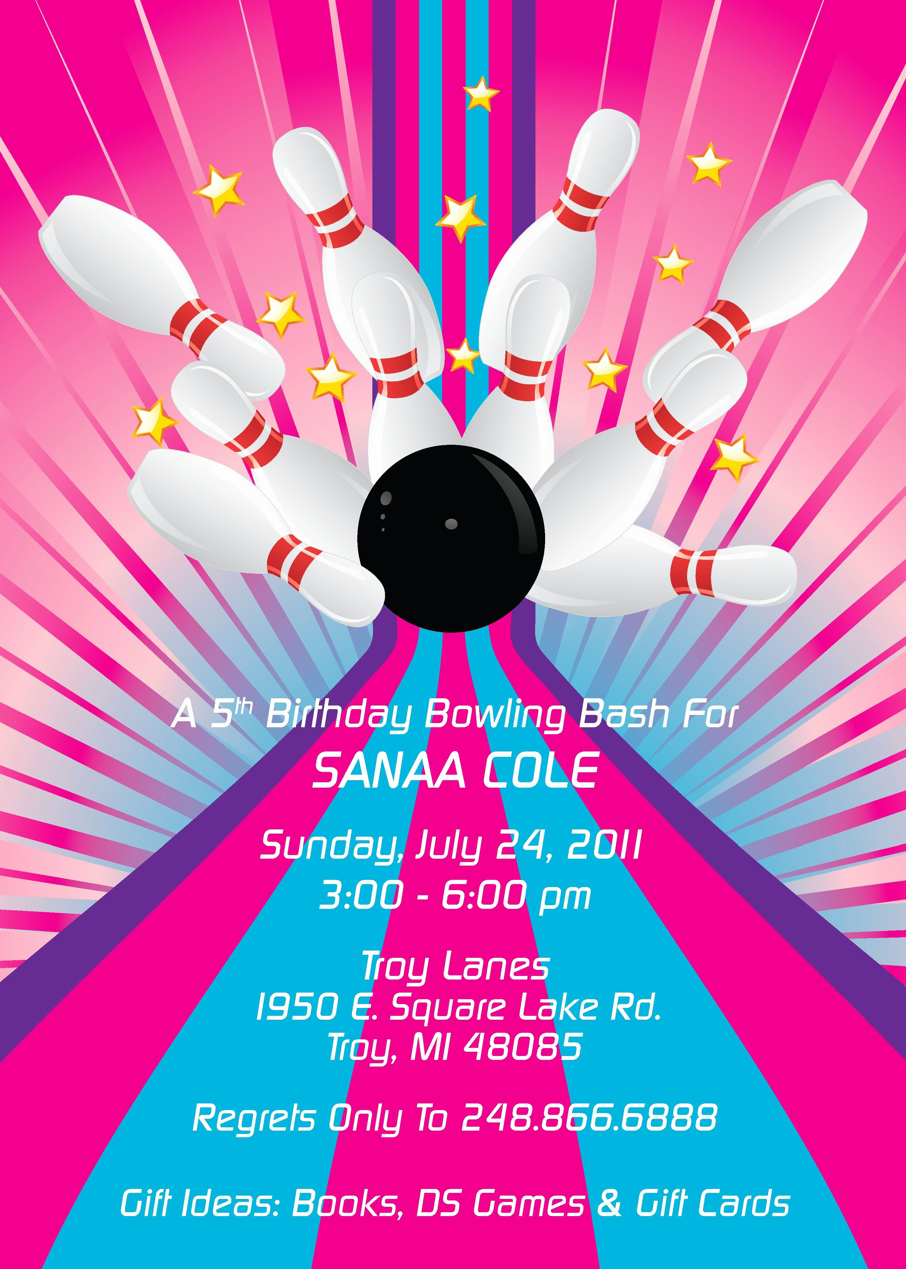 Free Printable Bowling Party Invitations Elegant Bowling Pin Template
