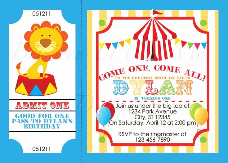 Free Printable Carnival Invitations Luxury 1000 Images About Circus & Carnival On Pinterest