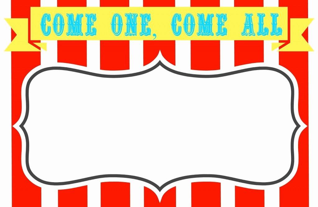 Free Printable Carnival Invitations New Carnival Clip Art Clipartion