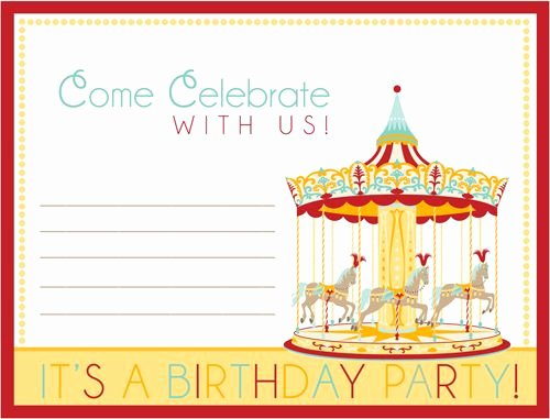 Free Printable Carnival themed Invitations Fresh Free Party Printables Carnival Circus Birthday Party & Free Printables