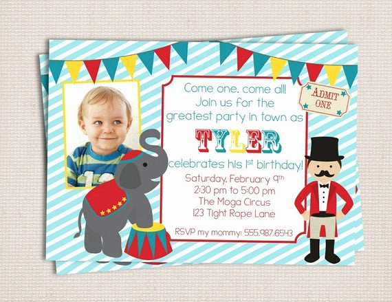 Free Printable Carnival themed Invitations New Under the Big top Circus Carnival themed Birthday Party Printable Invitation Digital File by