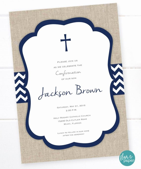 Free Printable Confirmation Cards Elegant First Munion Invitation Holy Munion First Eucharist