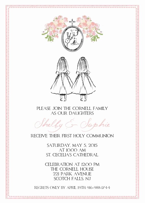 Free Printable Confirmation Cards Fresh Custom Karla Full Print order Invitaons and Coordinating