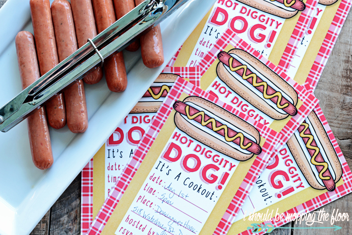 Free Printable Cookout Invitations Inspirational Hot Diggity Dog Free Cookout Printables