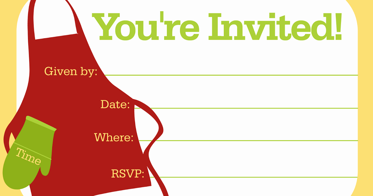 Free Printable Cookout Invitations Lovely Free Printable Party Invitations Invitations Template for