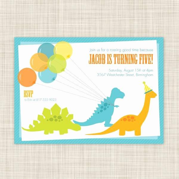 Free Printable Dinosaur Birthday Invitations Elegant Dinosaur Invitations Free Printable 2017 Birthday Party Pinterest