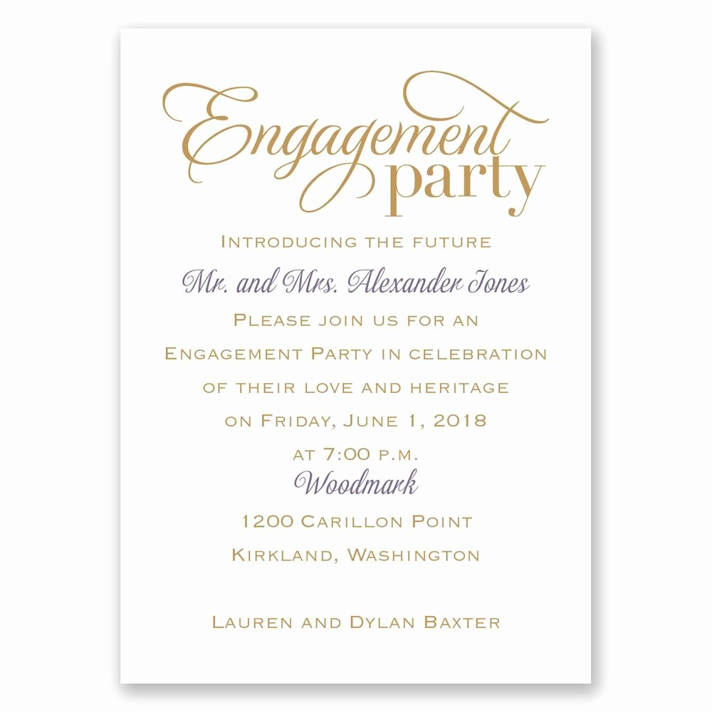 Free Printable Engagement Party Invitations Awesome Classic Style Mini Engagement Party Invitation