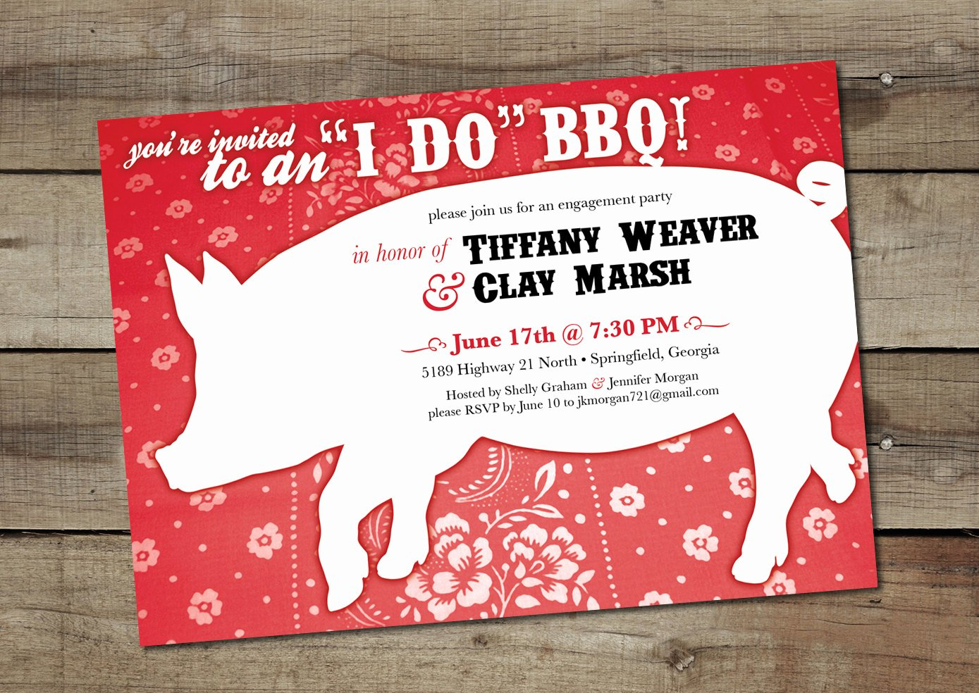 Free Printable Engagement Party Invitations Elegant Diy Custom Printable I Do Bbq Engagement Party