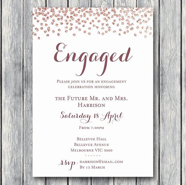 Free Printable Engagement Party Invitations Unique Engagement Party Invitations Wedding Invitation Printable