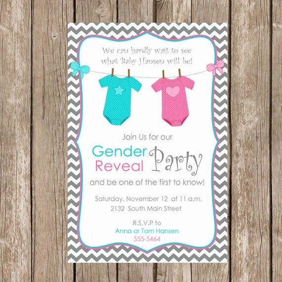 Free Printable Gender Reveal Invitations Best Of Gender Reveal Invitation Baby Reveal Invite Printable