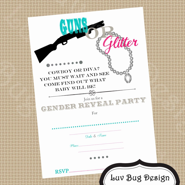 Free Printable Gender Reveal Invitations Elegant Free Printable Gender Reveal Invitations