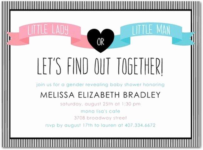 Free Printable Gender Reveal Invitations Fresh Gender Reveal Party Invitations