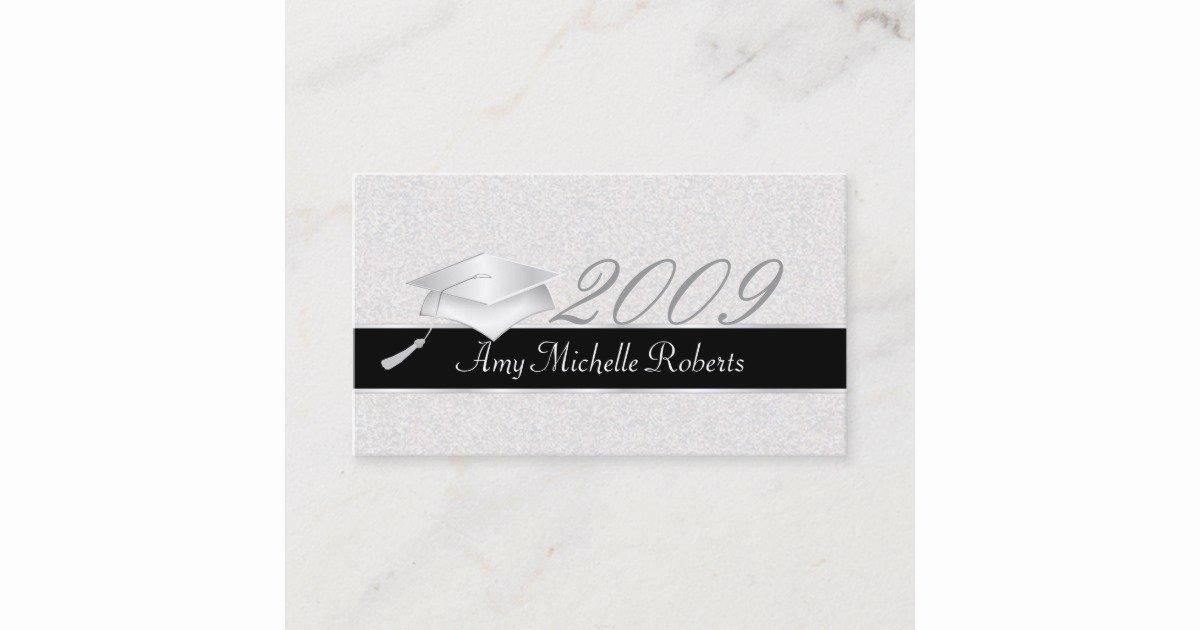 Free Printable Graduation Name Cards Fresh High School Graduation Name Cards 2009
