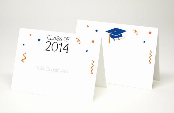 Free Printable Graduation Name Cards Fresh Items Similar to Custom Graduation Place Cards Diy Printable Digital File On Etsy
