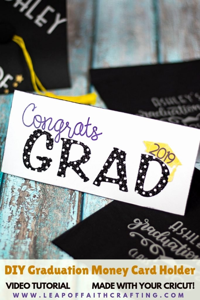 Free Printable Graduation Name Cards Luxury Graduation Card Diy How to Make A Cute and Easy Money Card Holder Leap Of Faith Crafting
