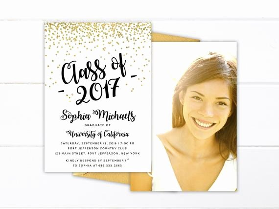 Free Printable Graduation Name Cards New Printed or Printable College Graduation Invitation High