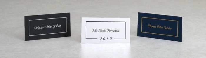 Free Printable Graduation Name Cards Unique Name Cards for Graduation