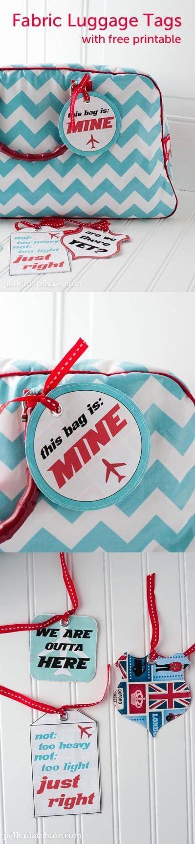 Free Printable Luggage Tags Fresh Free Printable Luggage Tag Template the Polka Dot Chair