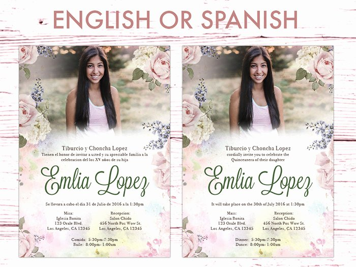 Free Printable Quinceanera Invitations Beautiful 35 Beautiful and Unique Quinceanera Invitations Templates