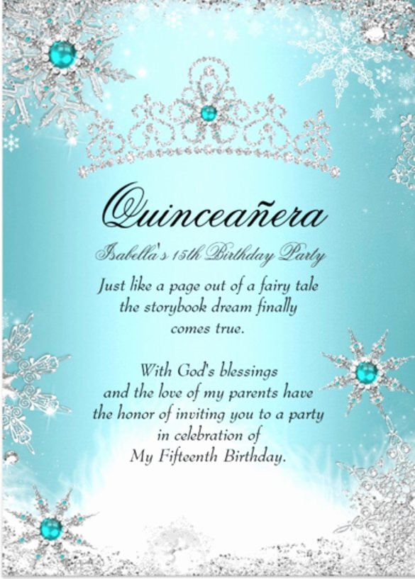 Free Printable Quinceanera Invitations Best Of Free Printable Quinceanera Invitation Templates
