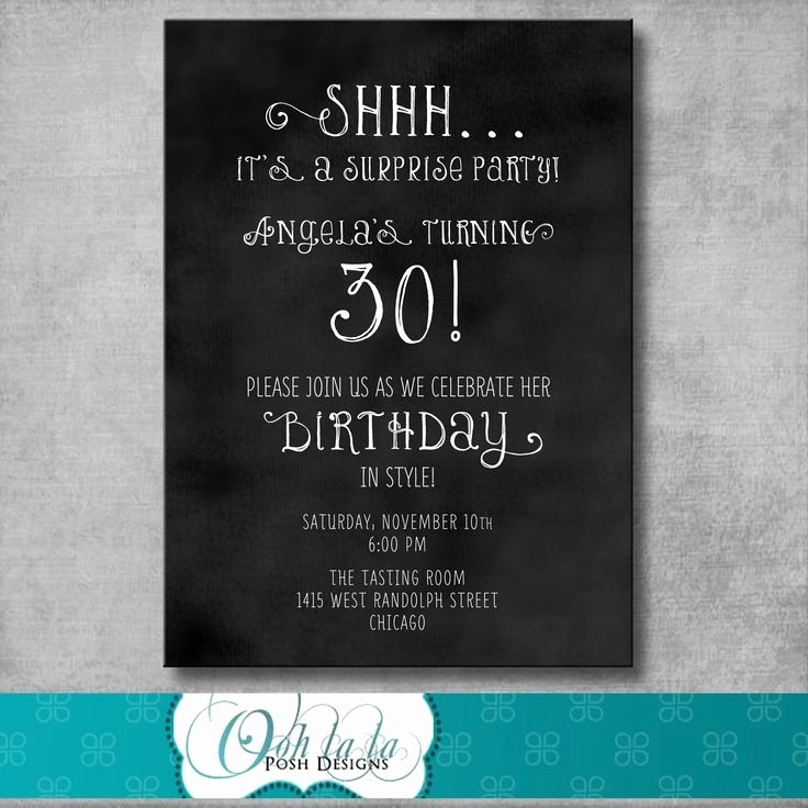 Free Printable Surprise Birthday Invitations Beautiful Adult Male Surprise Birthday Invitations