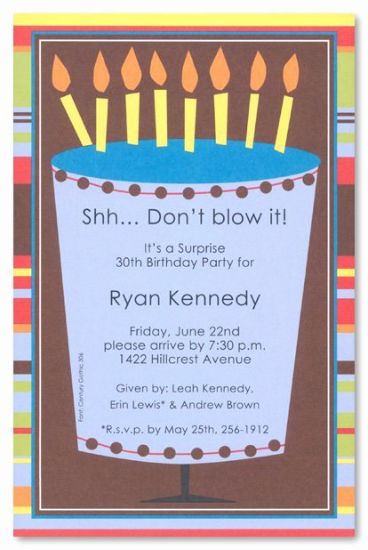 Free Printable Surprise Birthday Invitations Beautiful Free Printable 50th Surprise Party Invitations