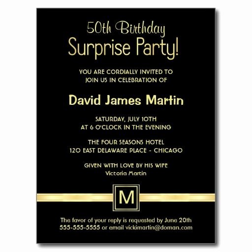 Free Printable Surprise Birthday Invitations Lovely Download Surprise 50th Birthday Party Invitations Wording