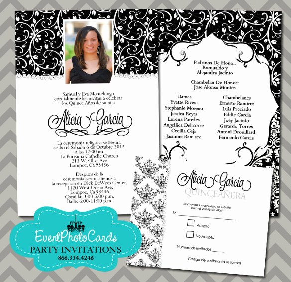 Free Quinceanera Invitation Templates Unique 28 Quinceanera Invitations Templates Psd Vector Eps Ai Word