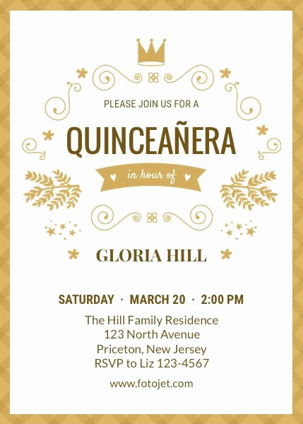 Free Quinceanera Invitation Templates Unique Free Quinceanera Invitations Templates
