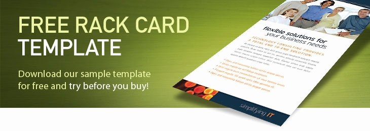 Free Rack Card Template Awesome Free Rack Card Template
