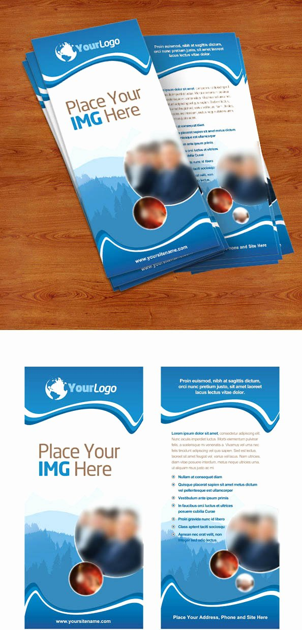Free Rack Card Template Elegant Rack Card Psd Template Free Psd Files