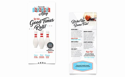 Free Rack Card Template Lovely Rack Card Template