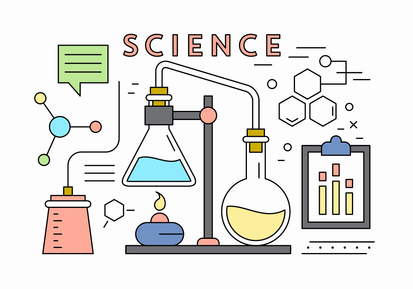 Free Science Powerpoint Templates Fresh Science Vector Elements Download Free Vector Art Stock Graphics &