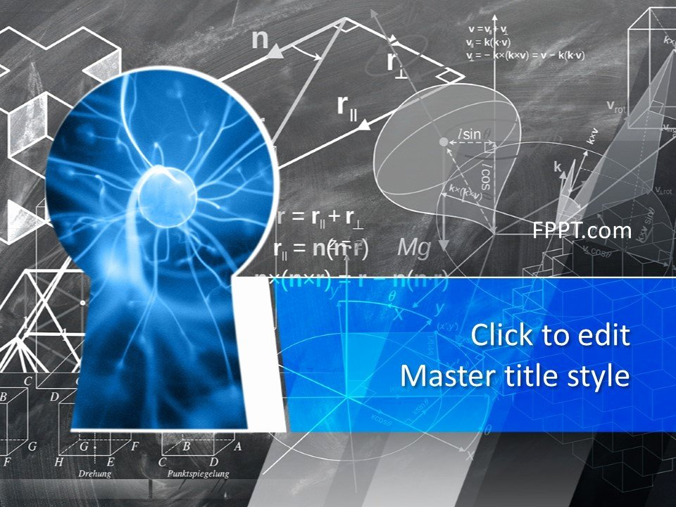 Free Science Powerpoint Templates Lovely Free Science Knowledge Powerpoint Template Free Powerpoint Templates