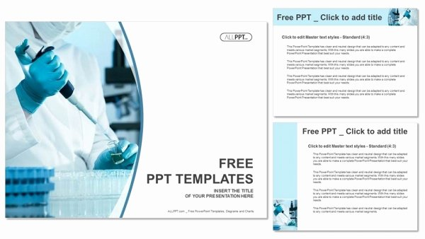 Free Science Powerpoint Templates Lovely Scientific Researcher In Medical Powerpoint Templates