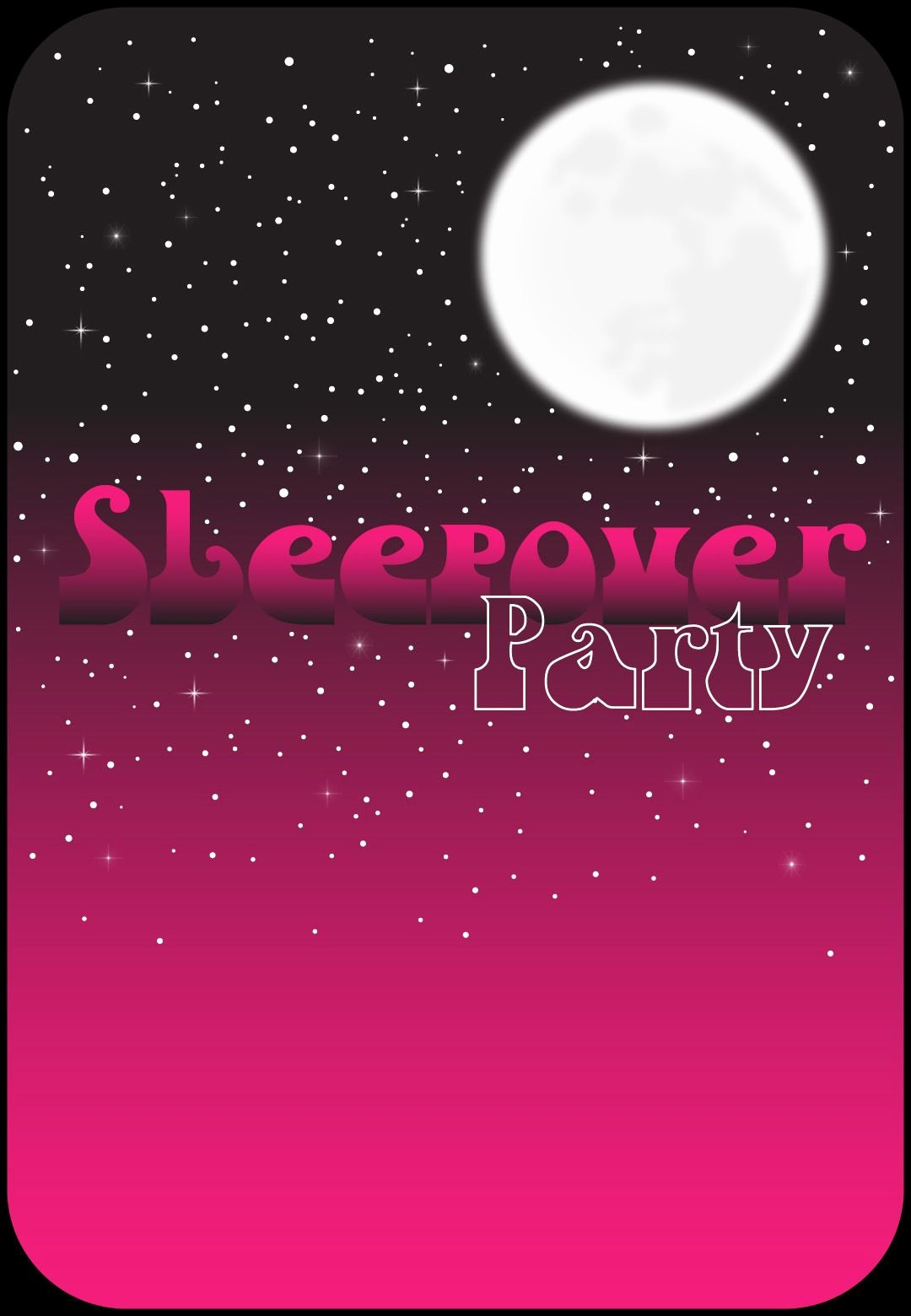 Free Sleepover Invitation Template Beautiful Free Printable Pink Night Invitation Sleepover Invitations In 2019