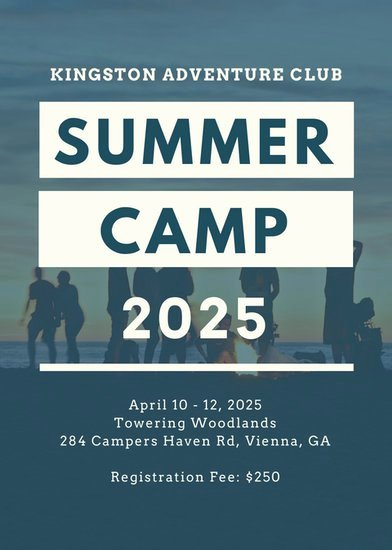 Free Summer Camp Flyer Template Awesome Customize 150 Summer Camp Flyer Templates Online Canva