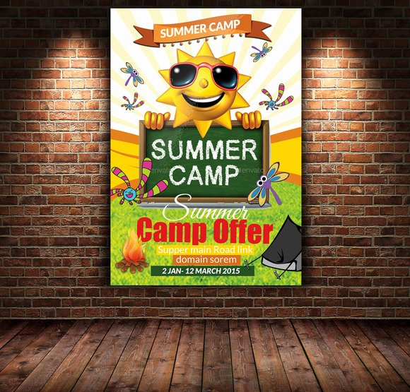 Free Summer Camp Flyer Template Fresh 20 Summer Camp Flyer Templates
