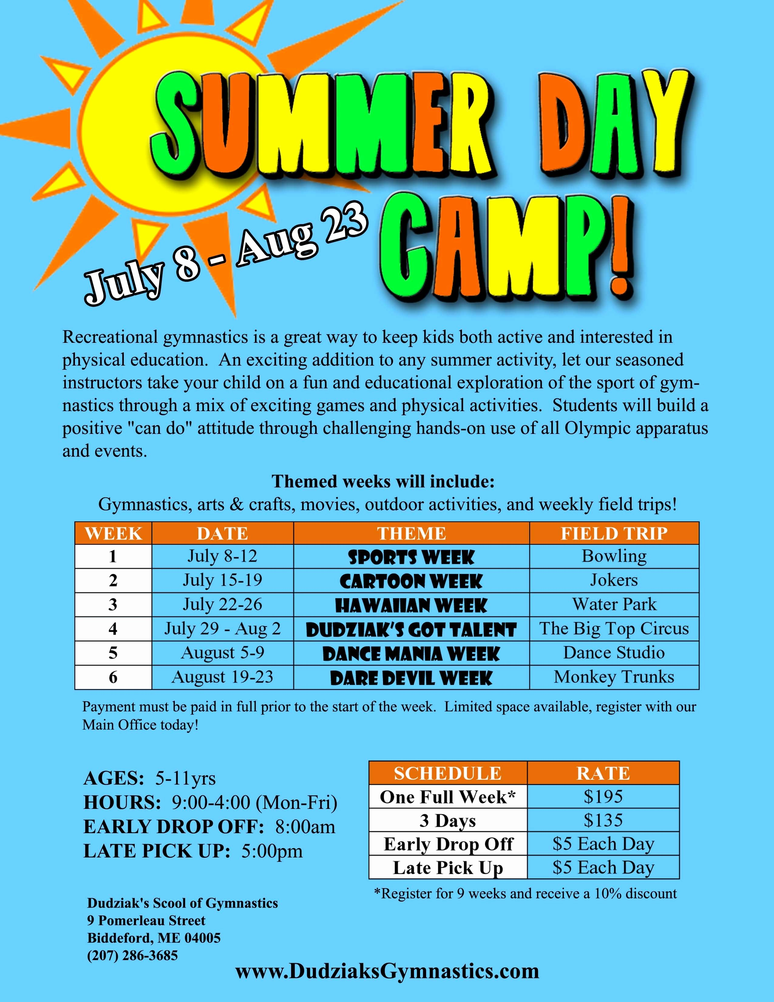 Free Summer Camp Flyer Template Inspirational Summer Camp Flyer Template Word