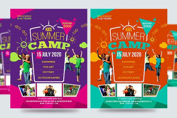 Free Summer Camp Flyer Template New 51 Summer Camp Flyer Templates Psd Eps Indesign Word