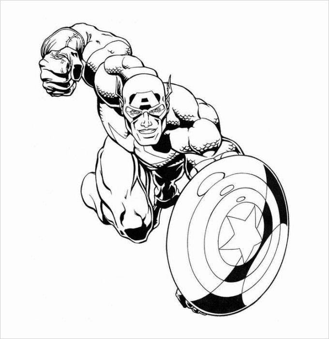 Free Superhero Coloring Pages Beautiful Superhero Coloring Pages Coloring Pages